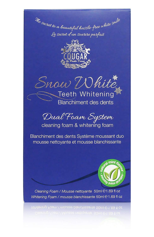 Dentifricio Sbiancante Dentale Naturale - Schiuma Sbiancante Denti
