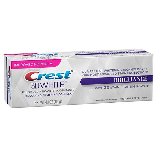 Dentifricio Crest Brilliance White
