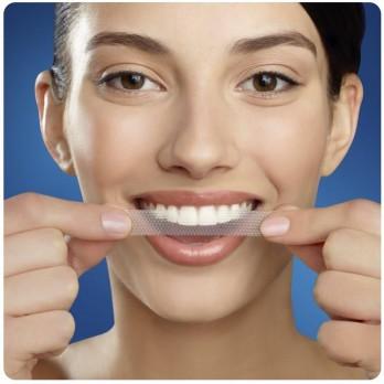 Strisce sbiancanti per denti da Crest